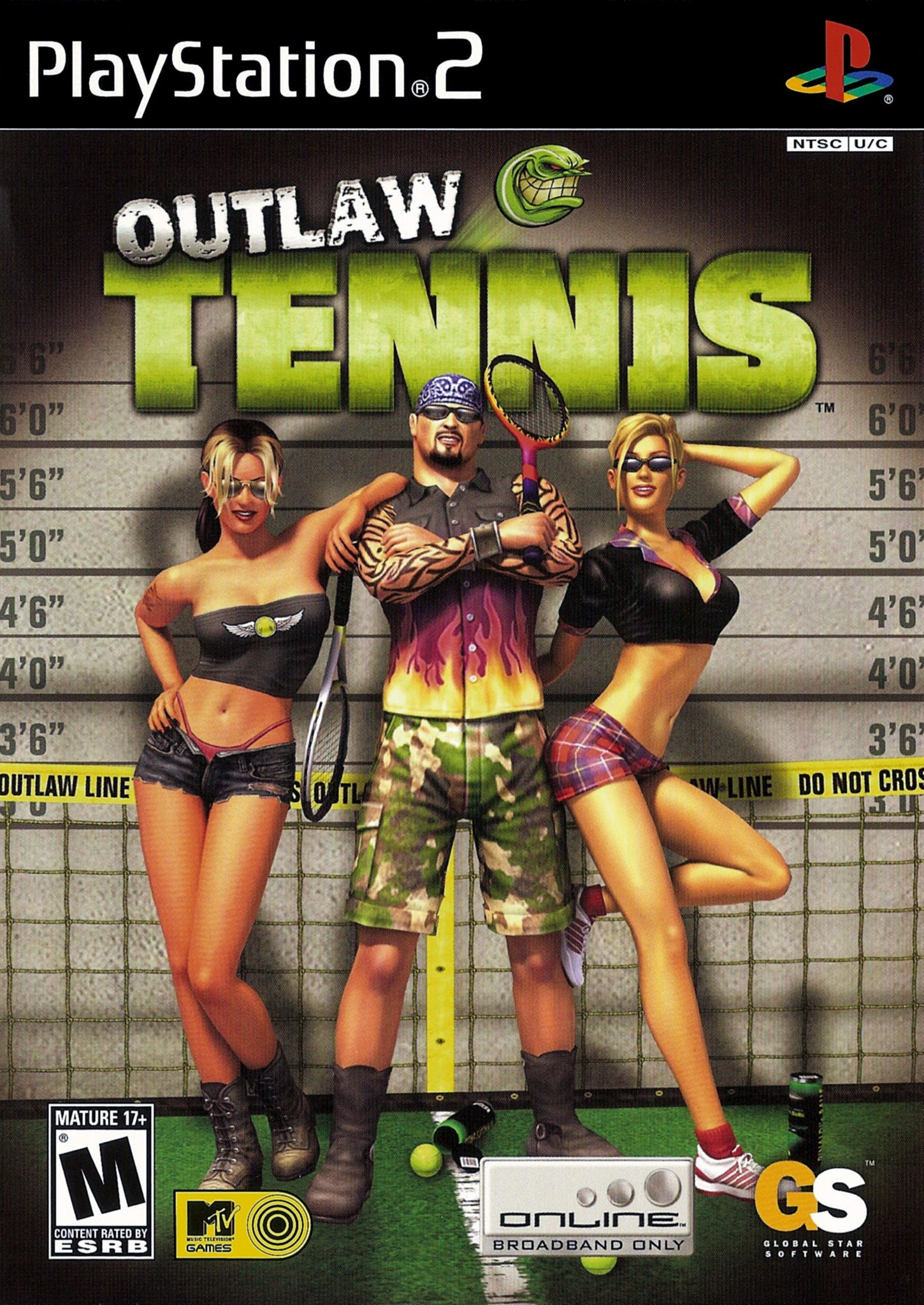 Outlaw Tennis - PS2 (Pre-owned)