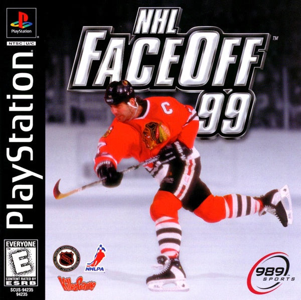 NHL FaceOff 99 - PS1 (Pre-owned)