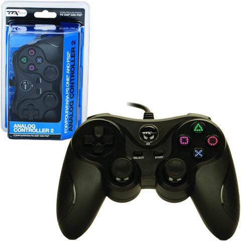 BLACK DUALSHOCK 2 WIRELESS CONTROLLER [TTX TECH]