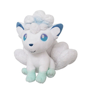 "ALOLAN VULPIX 7"" POKEMON ALL STAR PLUSH [SANEI]"
