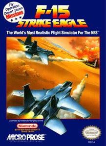 F-15 Strike Eagle - NES (Pre-owned)