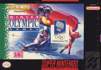 Winter Olympic Games Lillehammer 94 - SNES (Pre-owned)