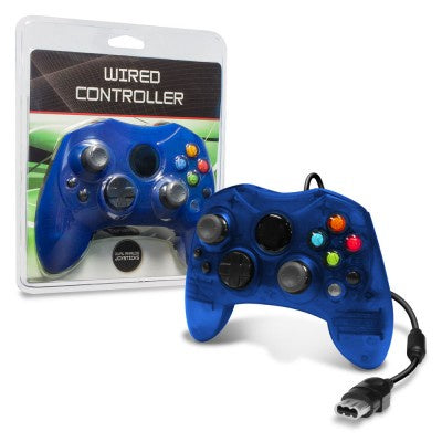 Original Xbox Wired Controller (Blue) 3rd Party