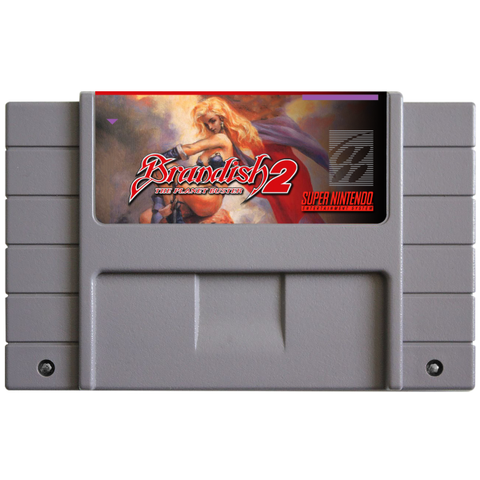 Brandish 2: The Planet Buster (Reproduction) - SNES (Pre-owned)