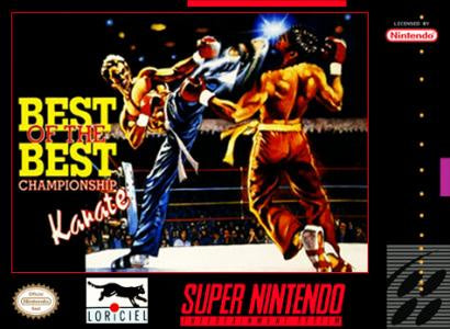 Best of the Best Championship Karate - SNES (Pre-owned)