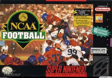 NCAA Football - SNES (Pre-owned)