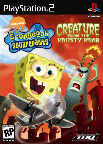 SpongeBob SquarePants Creature from Krusty Krab - PS2 (Pre-owned)