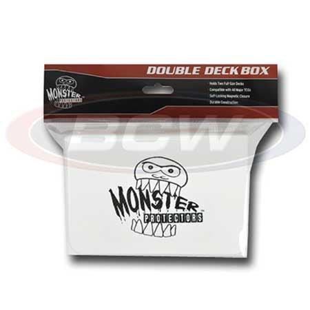 Monster Protectors: Double Deck Box - Matte White