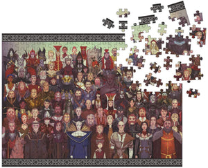 Dragon Age: Cast of Thousands Puzzle (1000 Pieces)