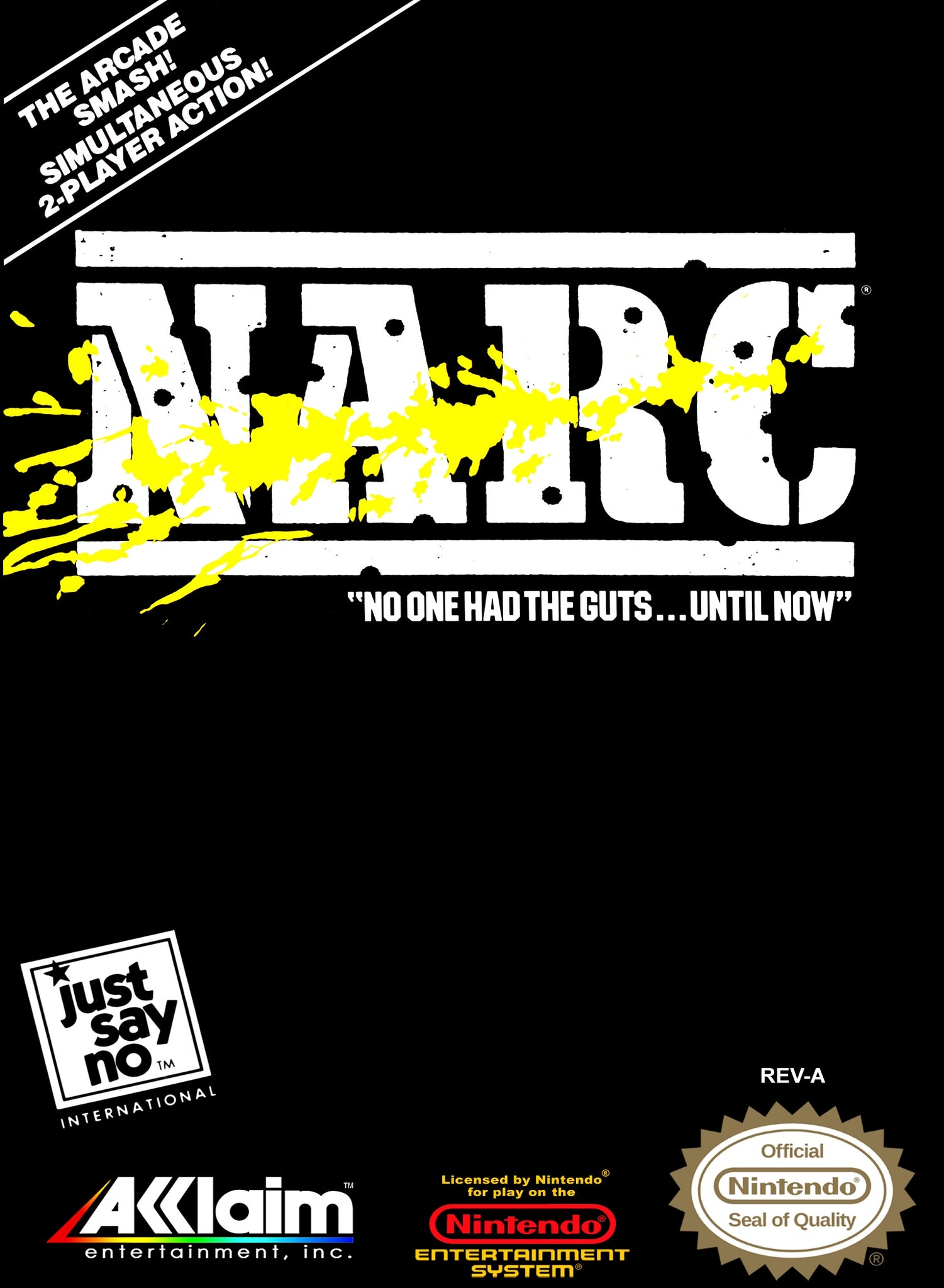 Narc - NES (Pre-owned)