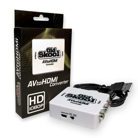 AV to HDMI Converter - Old Skool