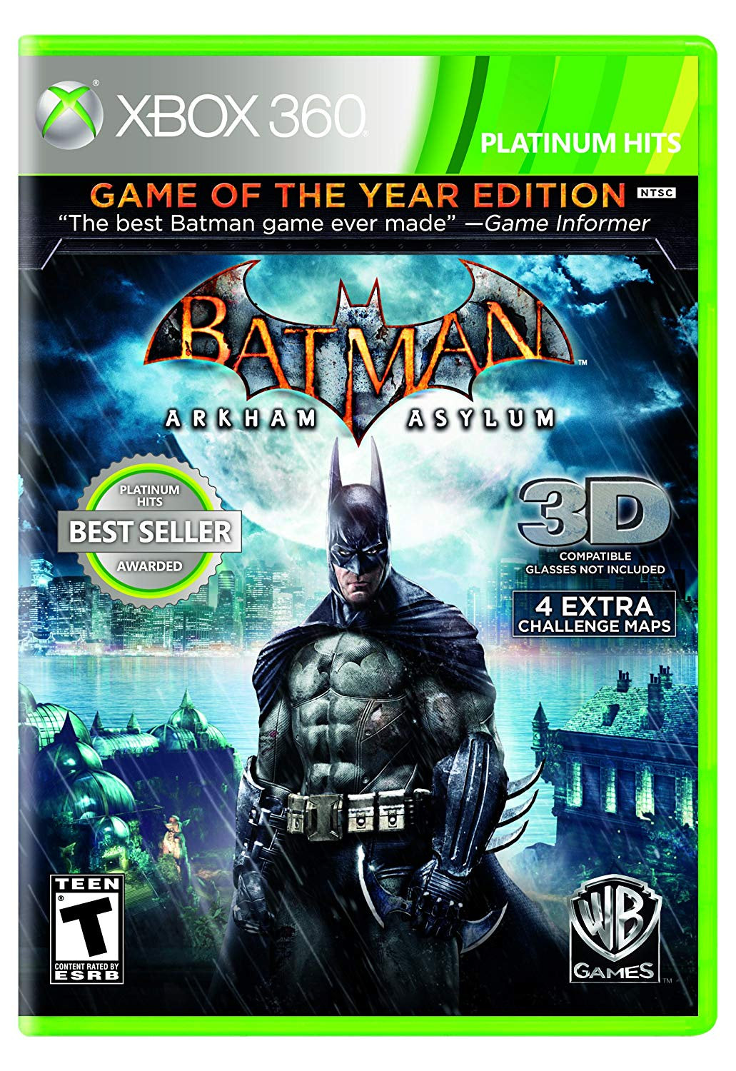 Batman: Arkham Asylum Game of the Year Edition - Xbox 360 (Pre-owned)