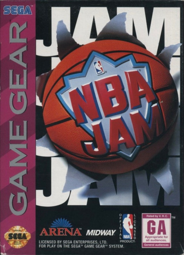 NBA Jam - Game Gear (Pre-owned)