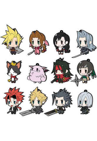 FINAL FANTASY TRADING RUBBER STRAP Square Enix FF VII EXTENDED EDITION (1 Random Blind Box)