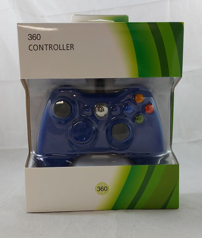 Generic Wired Controller for Xbox 360 - Blue