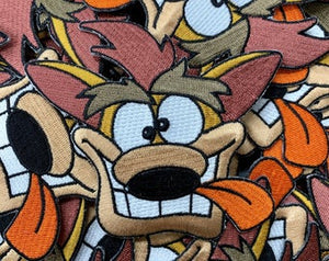 Crash Bandicoot Vintage Custom Embroidered Iron-On/Sew-On Patch