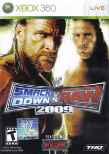 WWE SmackDown vs. Raw 2009 - Xbox 360 (Pre-owned)