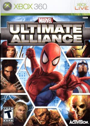Marvel Ultimate Alliance - Xbox 360 (Pre-owned)
