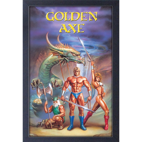 Sega Classics Golden Axe Dragon 11″ x 17″ Framed Print [Pyramid America]
