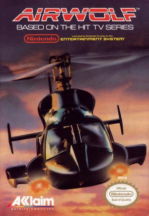 Airwolf - NES (Pre-owned)