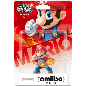 JP MARIO (SMASH) AMIIBO ACCESSORY JAPAN IMP [NINTENDO][JAPANESE]