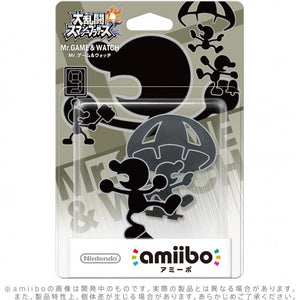 JP MR. GAME & WATCH AMIIBO ACCESSORY [NINTENDO][JAPANESE]