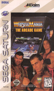 WWF WrestleMania: The Arcade Game - Saturn (Pre-owned)