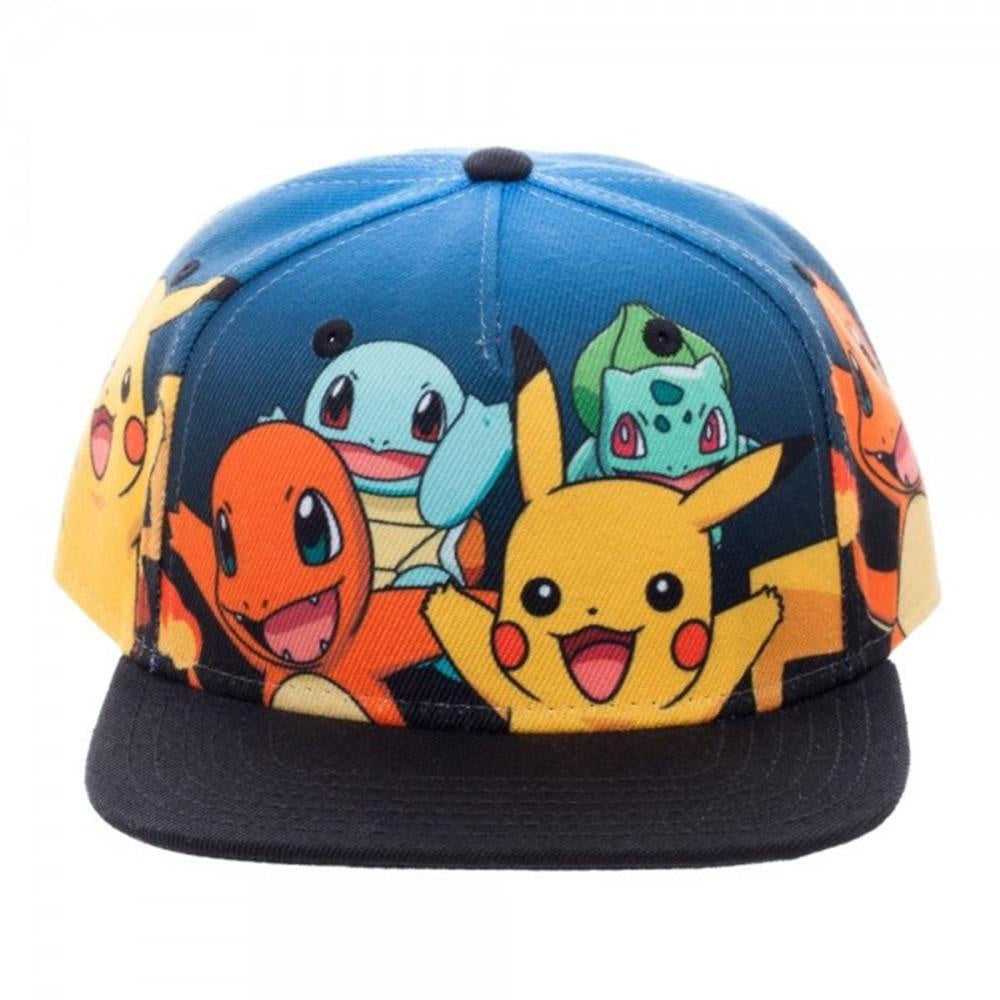 POKEMON - Group Gradient Snapback Flatbill Cap