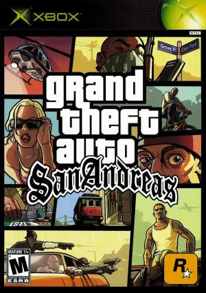 Grand Theft Auto San Andreas - Xbox (Pre-owned)