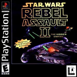 Star Wars: Rebel Assault II - The Hidden Empire - PS1 (Pre-owned)