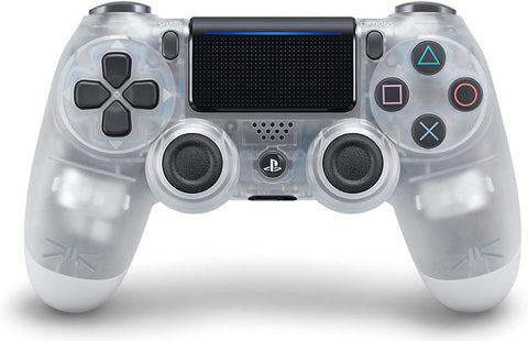 (Front Lit) DualShock 4 PlayStation 4 Controller Wireless Controller PS4 (Crystal)