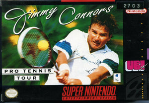 Jimmy Connors Pro Tennis Tour - SNES (Pre-owned)