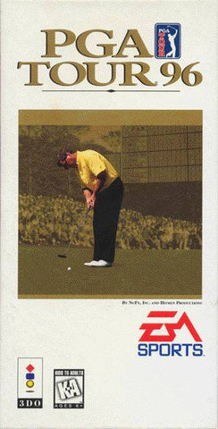PGA Tour 96 (Long Box) - 3DO (Pre-owned)
