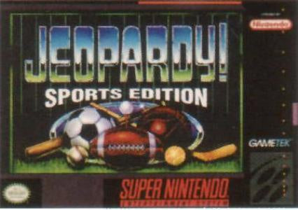 Jeopardy Sports Edition - SNES (Pre-owned)