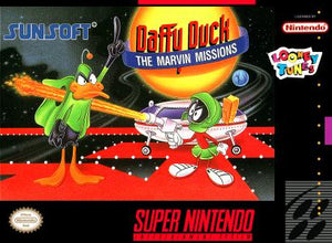 Daffy Duck Marvin Missions - SNES (Pre-owned)