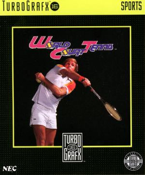 World Court Tennis - TurboGrafx-16 (Pre-owned)