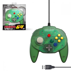 FOREST GREEN TRIBUTE USB PC CONTROLLER [RETRO-BIT]