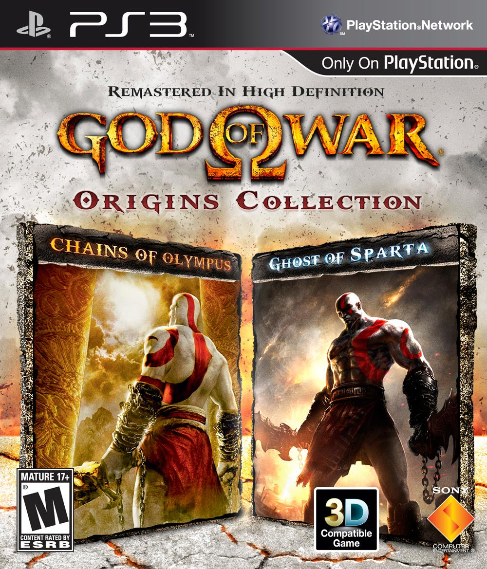 God of War Origins Collection - PS3 (Pre-owned)