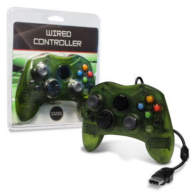 Original Xbox Wired Controller (Green) 3rd Party