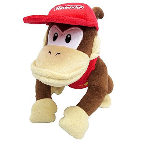 "DIDDY KONG NIN ALL STAR COL 9"" PLUSH TOY [LITTLE"