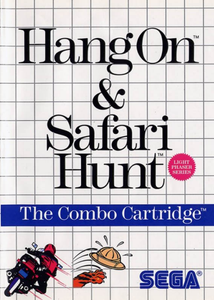 Hang-On and Safari Hunt - SMS (Pre-owned)