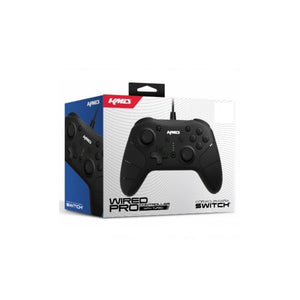 Black Switch Wired Pro Controller [KMD]