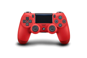 (Front Lit) DualShock 4 PlayStation 4 Controller Wireless Controller PS4 (Magma Red)