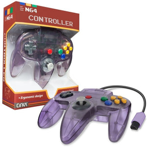 N64 Cirka Controller Atomic Purple
