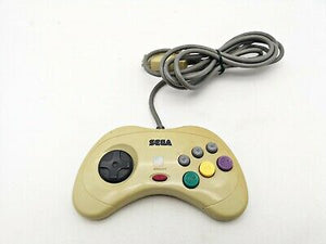 Sega Saturn Controller White (Japanese Import)(Discoloration)