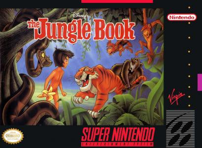 The Jungle Book - SNES (Pre-owned)