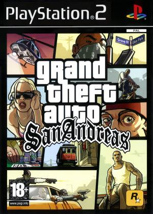 Grand Theft Auto San Andreas - PS2 (Pre-owned)