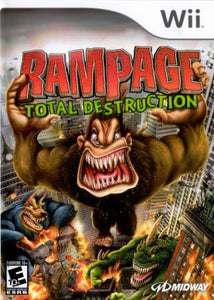 Rampage Total Destruction - Wii (Pre-owned)