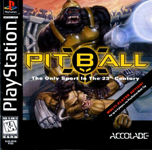 Pitball - PS1 (Pre-owned)