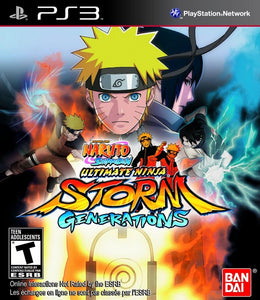 Naruto Shippuden Ultimate Ninja Storm Generations - PS3 (Pre-owned)
